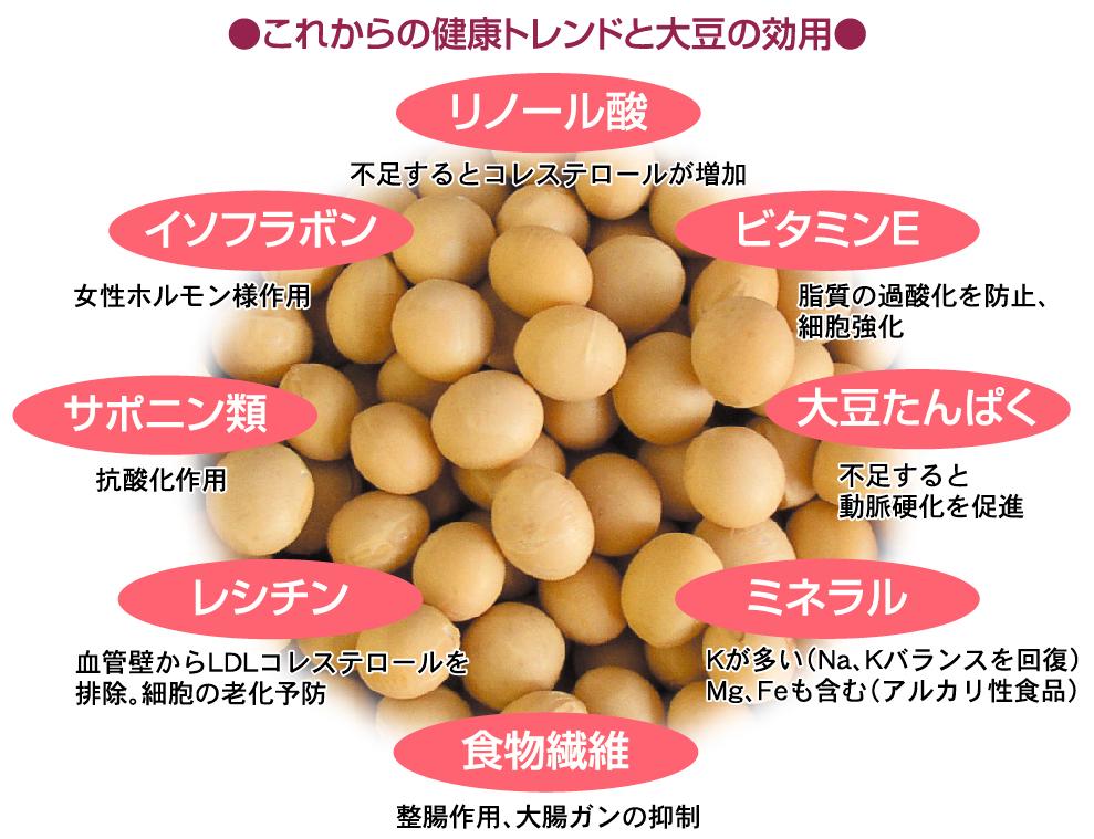 これからの健康トレンドと大豆の効用